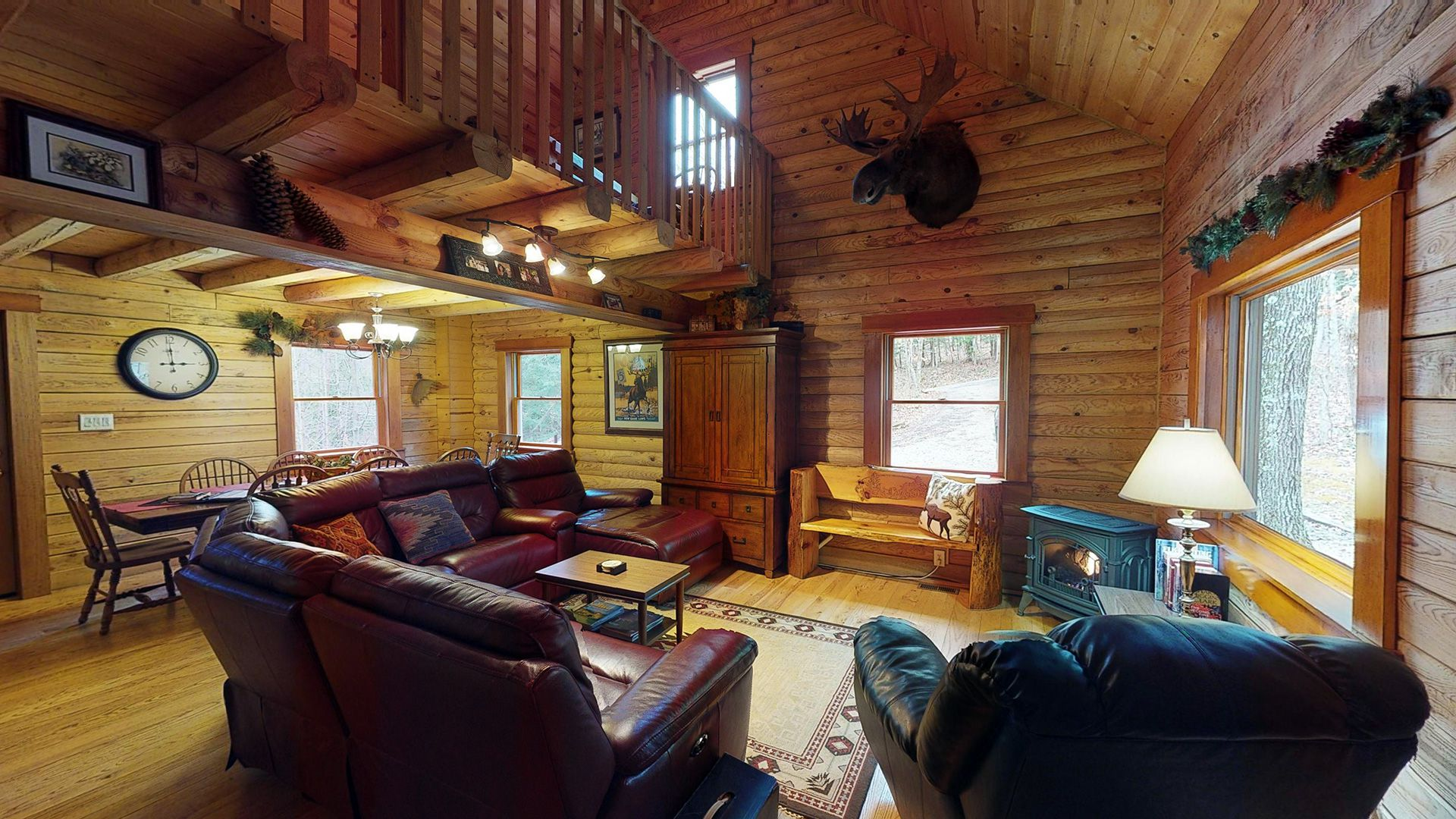 The Preserve Cabin Main Living Area