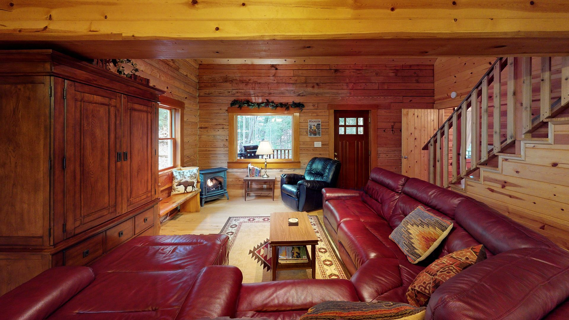 The Preserve Cabin couch